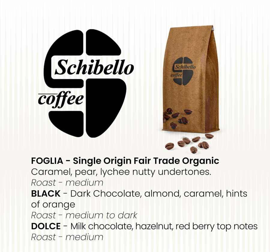 Schibello Coffee Foglia Black & Dolce